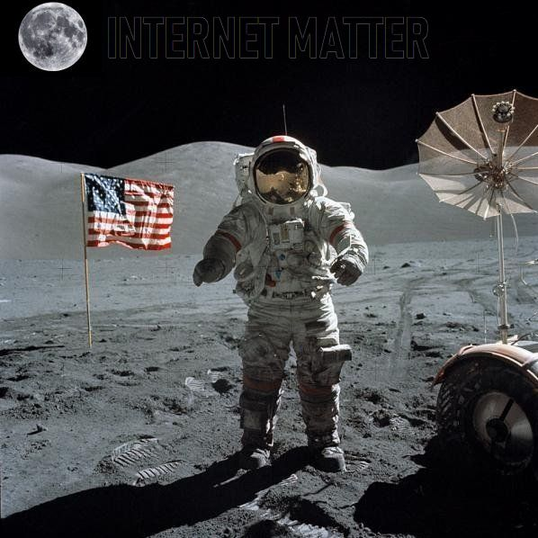 There is no anti-matter only INTERNET MATTER